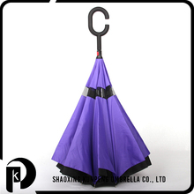 Use Promotion Various Color Logo Chinese Reverse Open Inverted Umbrella