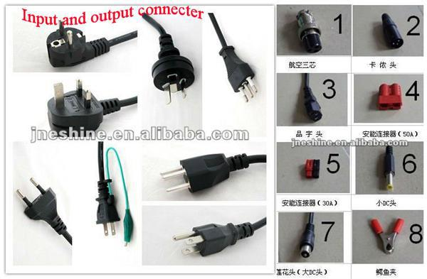 12V40A 24V25A 36V18A 48V15A Universal Charger for Power Tool Battery