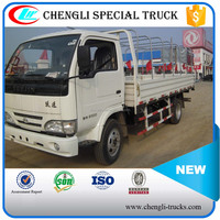 China low price Iveco 4x2 Light Truck 3 ton 5 ton with tent for sale