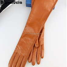 Fashion Ladies Winter Gloves Leather Warm Screen Touch Mittens Driving Gloves Best quality