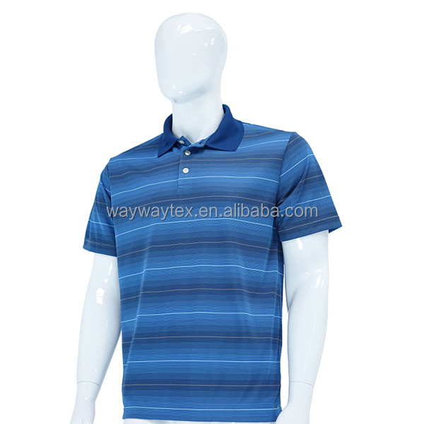 Men's New Quick Dry Fabric Slim Fit Polo Jersey Shirt Made In China