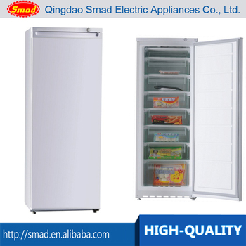 6 door single solid door large upright freezer with CE CB