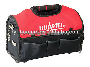 HM02010-1 Electrician Tool bag With tubular/Open tote tool bag