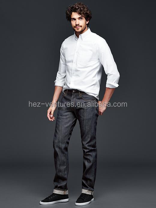 Slim Fit Jeans Japanese Selvedge Men's Slim High Quality ...