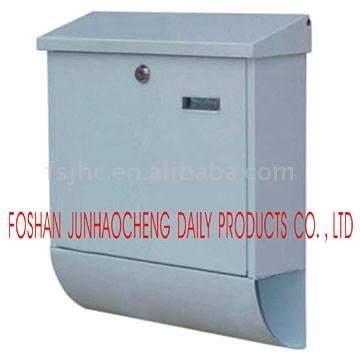JHC-2034B Cast Iron Apartment Wall Mounted Mailboxes/Outdoor Powder Coated Letter Boxes