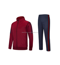 In Stock Sports Jacket Mens Kid Soccer Tracksuit