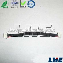Battery wire harness Molex connector 51021 1.25mm pitch