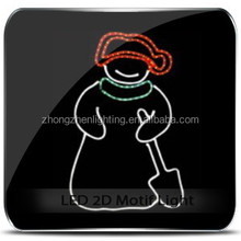 LED outdoor christmas large snow man lights