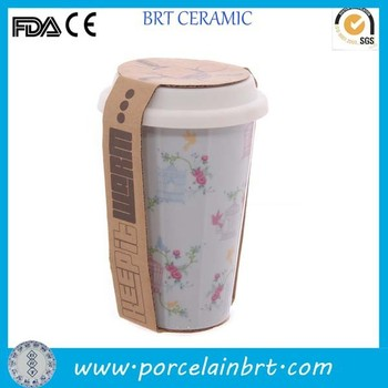 eco ceramic travel mugs with lid