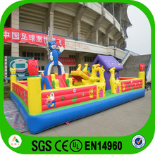 Factory price Giant inflatable wonderland for kids /hot sale inflatable fun city