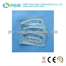 2014 New Design Dental Home and Clinic Finger Teeth Cleaning Wipe