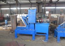 waste tire cutting machine for rubber block