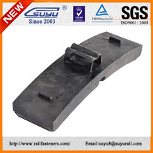 Railroad Fastener Cast Iron Brake Shoe For Train And Wagon