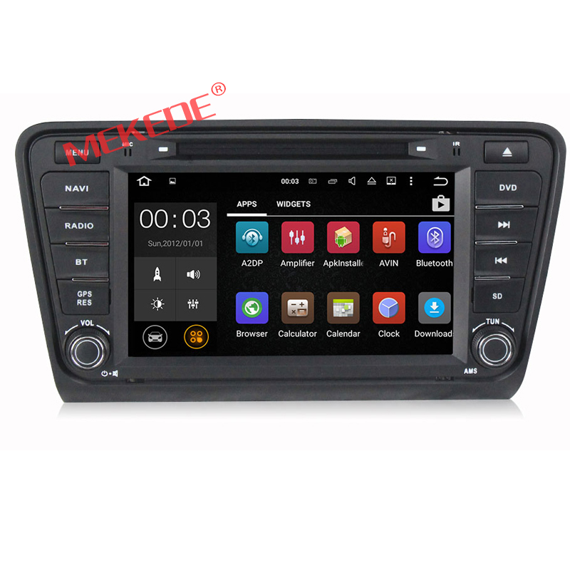 Car dvd player car radio GPS system 8 inch for VW Skoda OCTAVIA 2014 support DVD/FM/AM/WIFI/Bluetooth