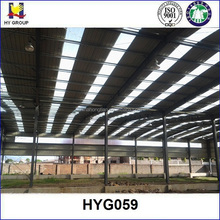 Prefab steel metal structure ware house