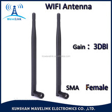 Factory Price 2.4ghz RF Antenna Rubber Duck Small WIFI Dipole 2.4G Antenna