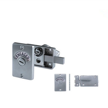 stainless steel washing room and toilet partition door lock