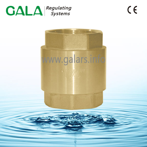 mini screw type high pressure brass non return one way check valve