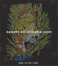 The king of tiger wholesale iron on transfers