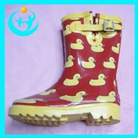 Latest Children Rubber Rain Boot