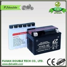High quality 12v 4ah battery and charger of motorcycle battery