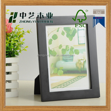 wholesale FSC&SA8000&BSCI folding adjustable wooden photo pictures gift frame for christmas decoration