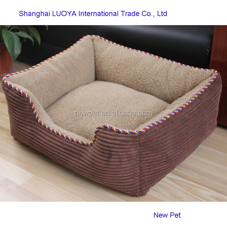 Best quality nice grade cotton dog beds sofa dog bed crib