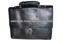Best cheap price black leather business laptop bags/Best laptop bags
