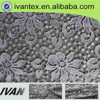 New Fashion Design African Lace Embroidery Fabric Polyester