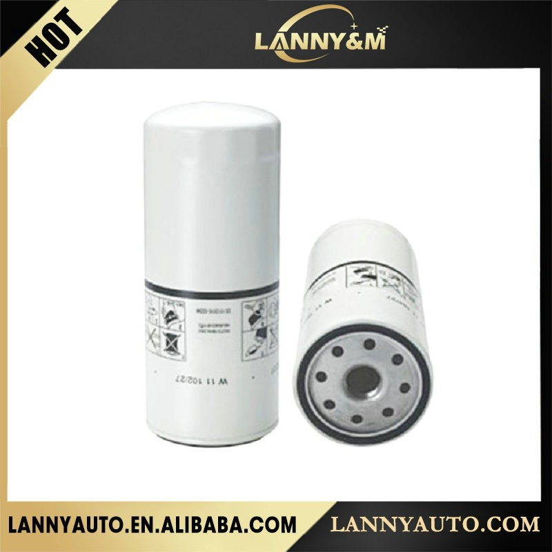 Auto Engine Lubrication System W11102/27 oil filter,car oil filter machine