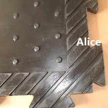 perforated rubber mats/Anti slip rubber mat/Rubber stable mat