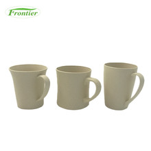 Biodegradable Popular Item 370ml Wheat Fiber Novelty Cup Plant