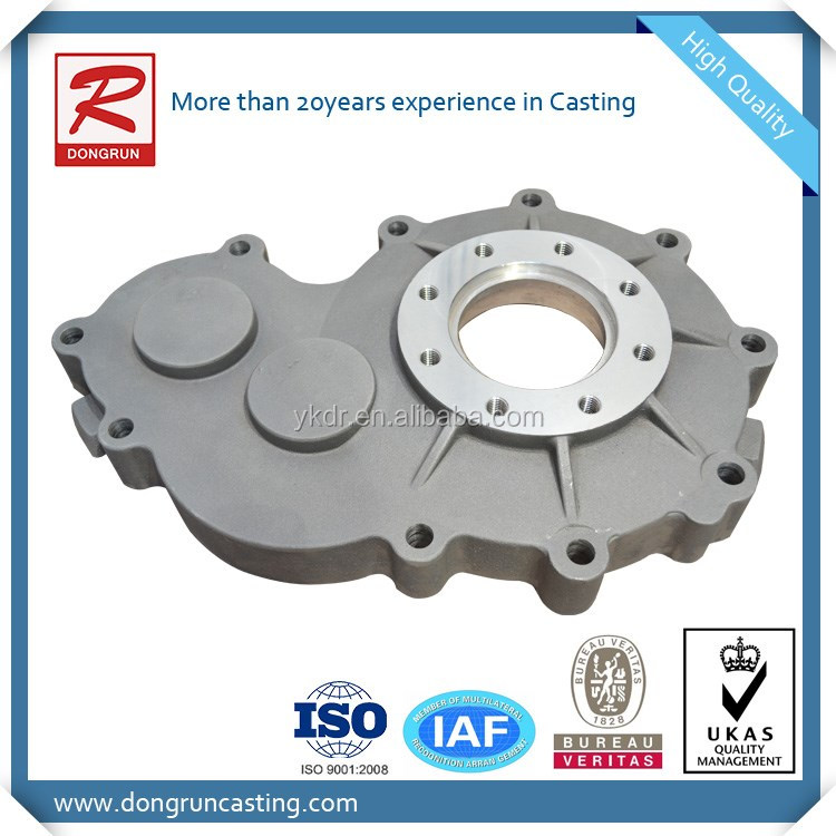 A356 aluminium die casting gear box with sand blasting