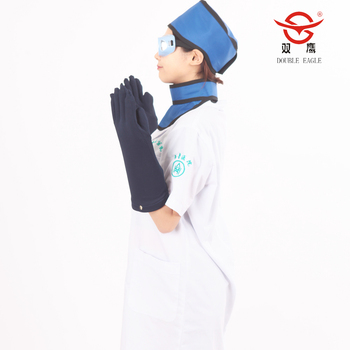 medical veterinary lead glove