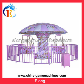 Hot sale amusement park 12seats attraction flying swing chair rides for amusement