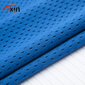 100 polyester tricot mesh fabric for basketball suit mesh fabric with tie dye