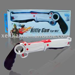 Rifle Light gun for Nintendo Wii rifle gun(Compatible with Motion Plus)