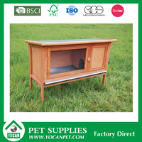 animal house portable wooden rabbit cage
