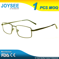 High Quality Joysee Latest New Mode Style Light Titan Ideal Optical Frame For Gentalmen