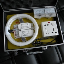 EU/US/UK Max 3A Aluminium Power Factor Saver Demo Box for Display with Handle