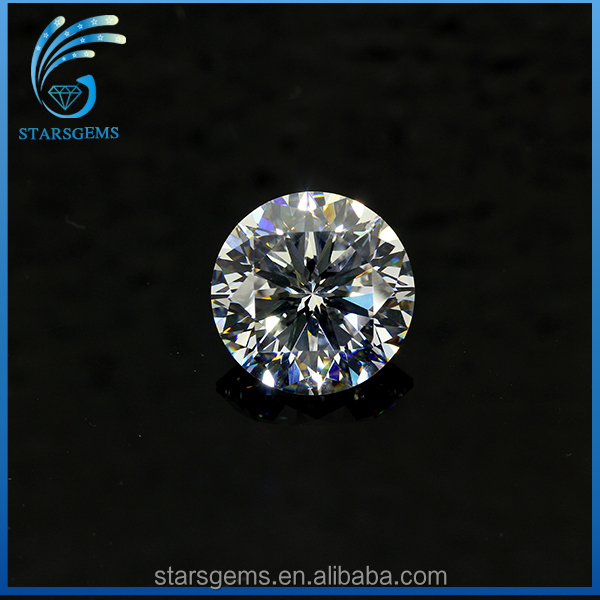 Factory Direct Sales White Synthetic Diamond,Brilliant Wholesale Price Synthetic CZ Loose Gemstone