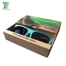 luxury drawer packaging box, cardboard gift box for sunglass packaging