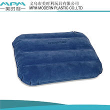 2013 fashion design flocked inflatable pillow