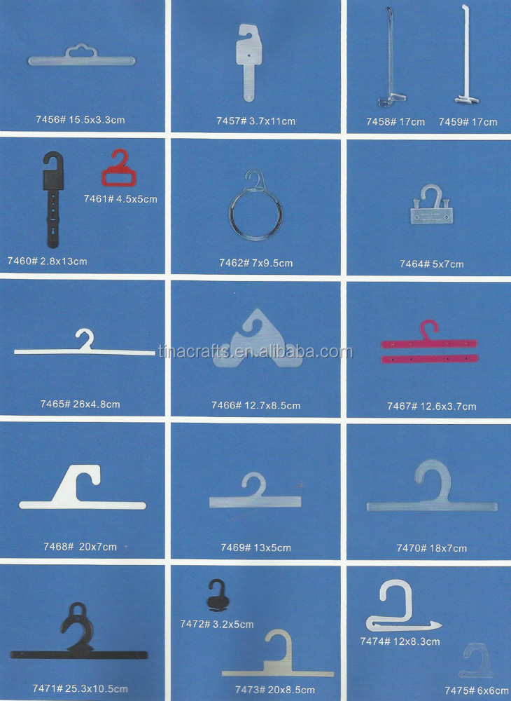 Dress Clips/ Socks Hook / Plastic Hook