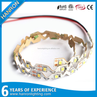 smd 2835 S shape type 12V 24V LED flexible strip light for Channel Letters Backlight advertisement Signage