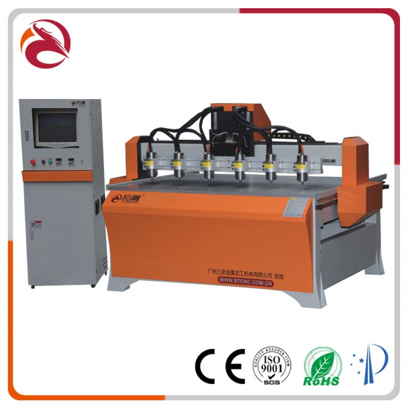 wood router Wooden door engraving machine / cnc router wood furniture making / wood carving equipment 1224