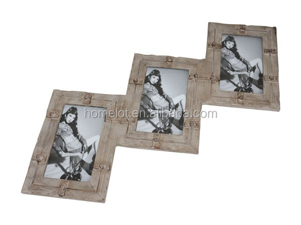 Wooden Picture Frame Set for Wall