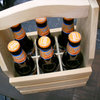 Customized Wooden Beer Tote Carrier For