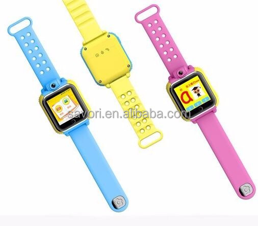 Older Kids GPS Smart Watch 3G / LBS WIFI Location SmartWatch / SOS Pedometer Tracker With Camera