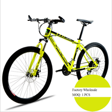Factory Wholesale High Quality Double Disc Brakes Full Suspension Mountain Bike 26